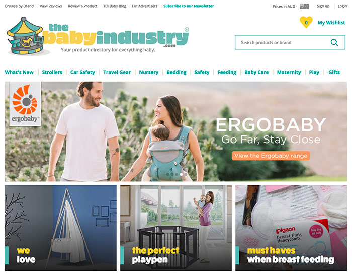 the-baby-industry-homepage