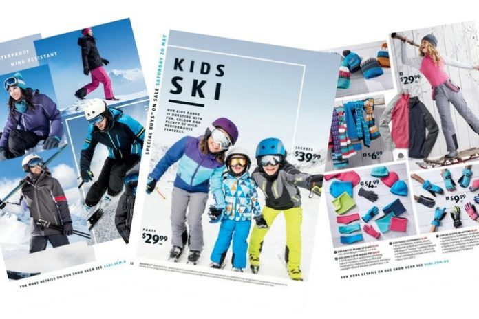 ALDI Snow Sale Catalogue
