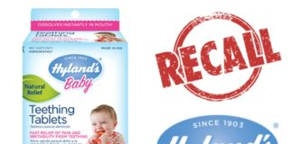 Product Recall: Hylands