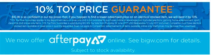 big-w-afterpay-price-guarantee