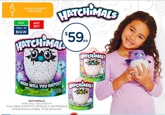 hatchimals-big-w-toy-sale