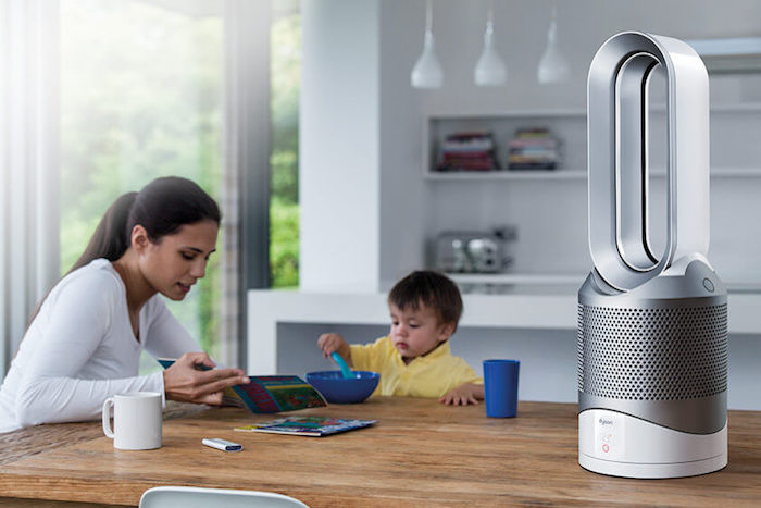review Dyson Pure Hot+Cool Link Purifier Fan Heater