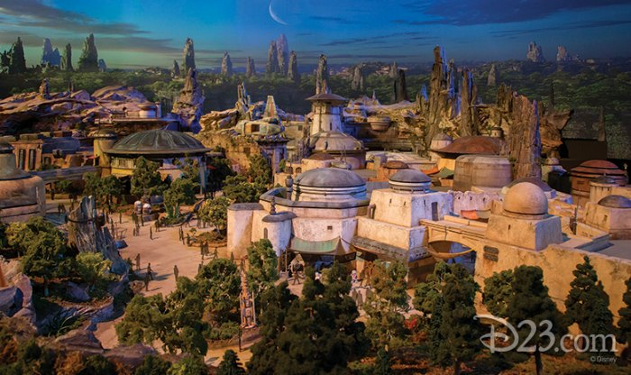 First Glimpse of Disney's Star Wars Themed Parks