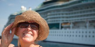 family-cruising-happy-woman