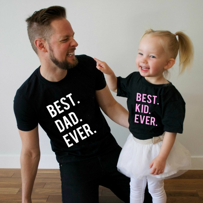 Daddy and Me Tees