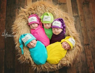 Adorable Driskell Quintuplets
