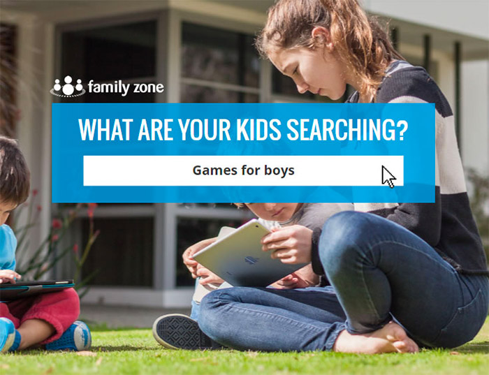 family-zone-kids-searching