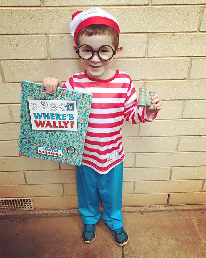 easy book week costume ideas