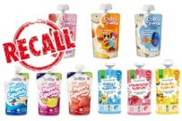 children's yoghurt pouch safety recall
