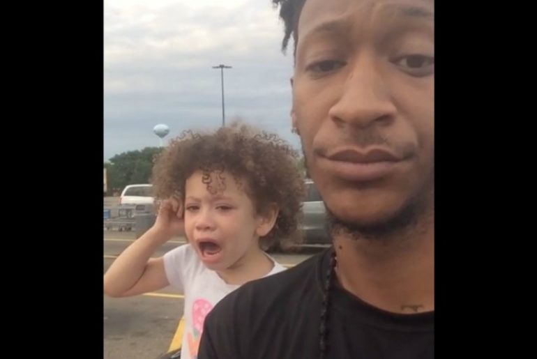 Dad Shuts Down a Toddler Tantrum Terrel Crawford