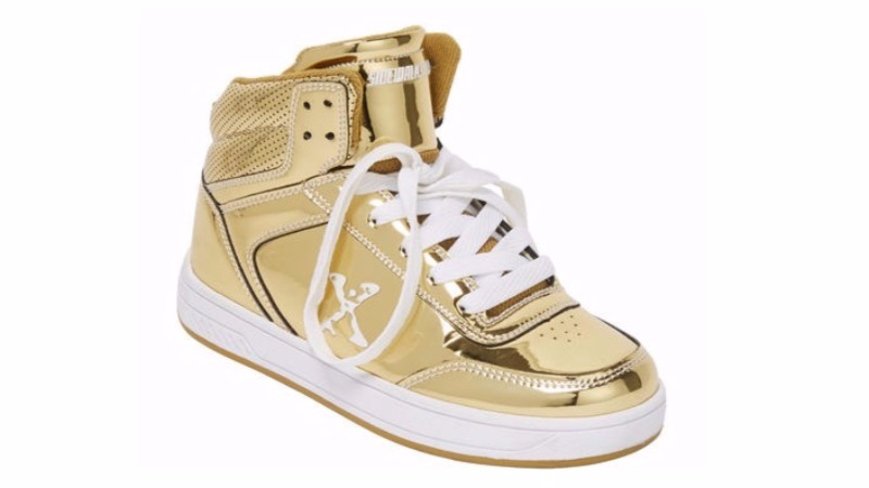 Kmart gold skate shoes