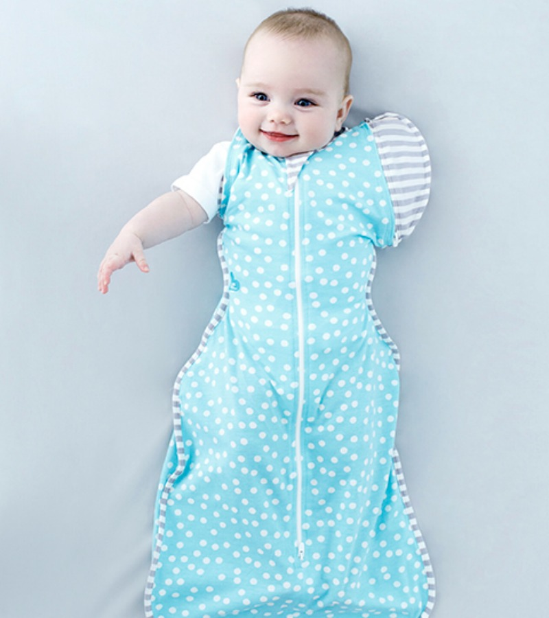 Love to Dream summer sleep suits and baby swaddles