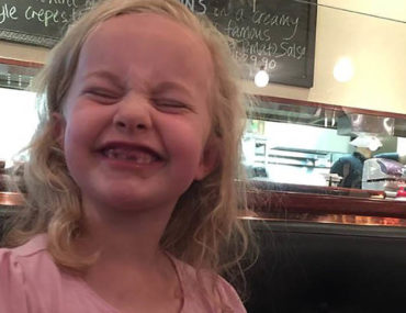 Rosie Brealey, 8. died of flu in Melbourne