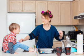 mums work the equivalent of two full-time jobs