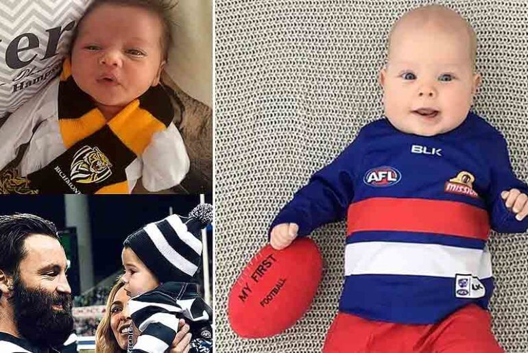 AFL and NRL footy inspired baby names