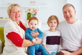 grandparents who babysit live longer