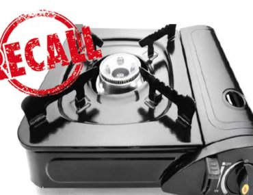 safety recall Kmart gas stove
