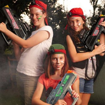 WIN: Laser Tag in a Box Party Delivers DIY Birthday Awesomeness
