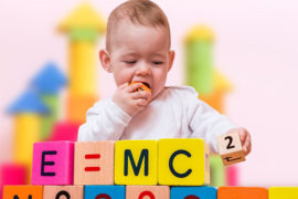 number recognition in newborns