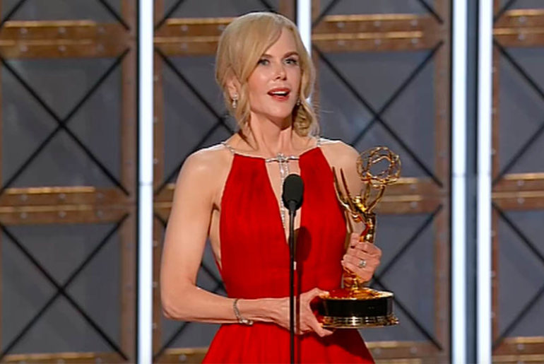 Nicole Kidman Emmy speech