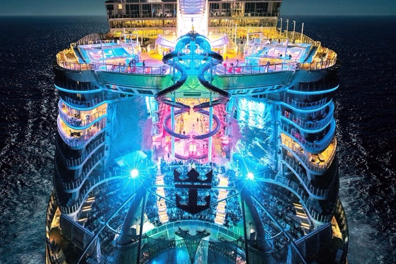world's largest cruise ship Symphony of the Seas