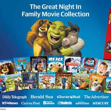 WIN: Grab the Popcorn and Start Collecting Your Great Night In Family Movie Collection