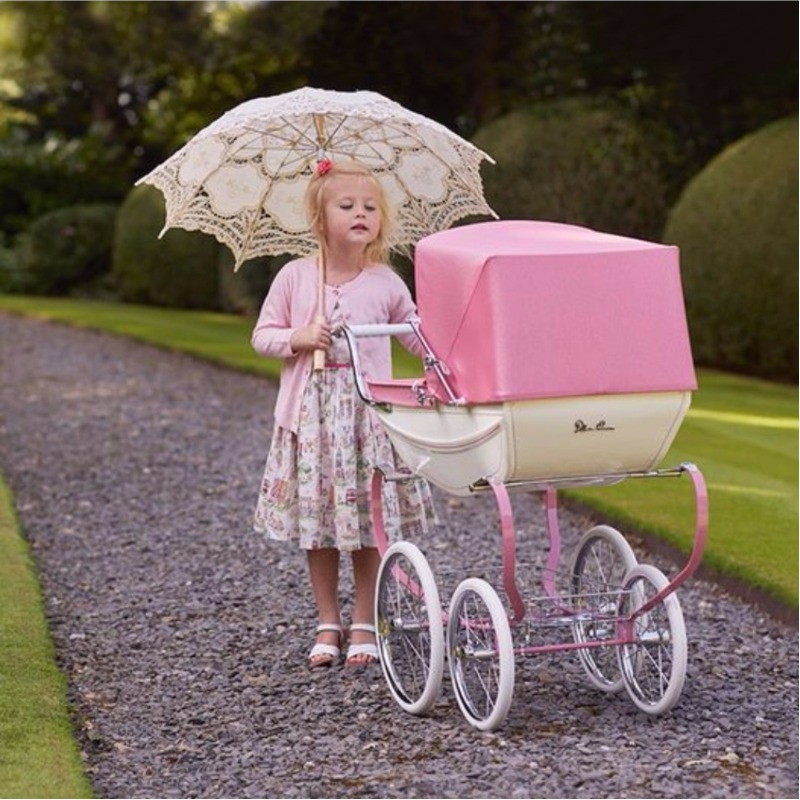 Silver Cross Blossom Doll's Pram