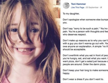 Toni Hammer don't list mum shares rules for daughter