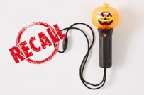 Target pumpkin toy recall because of button battery danger