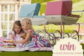 win a Silver Cross doll's pram