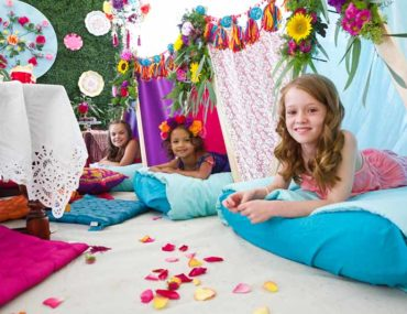teepee sleepover party ideas for girls