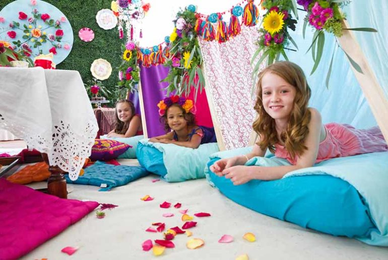 Get Sleepy In Your Teepee 15 Totally Awesome Sleepover Party Ideas
