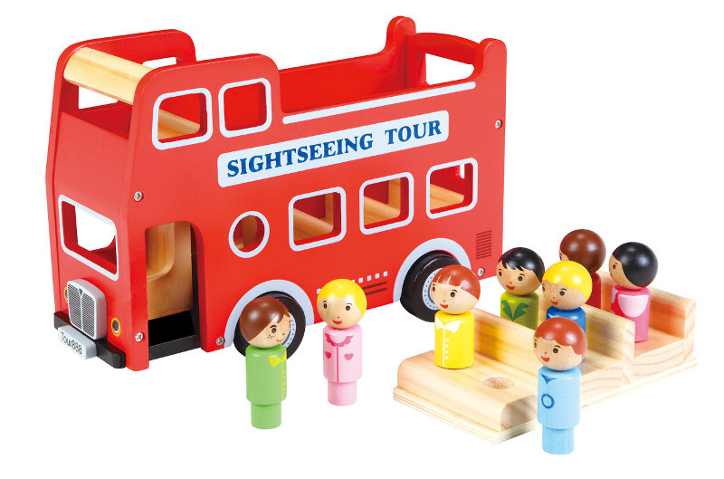 BELLO DOUBLE DECKER BUS - cool Christmas gift ideas for toddlers