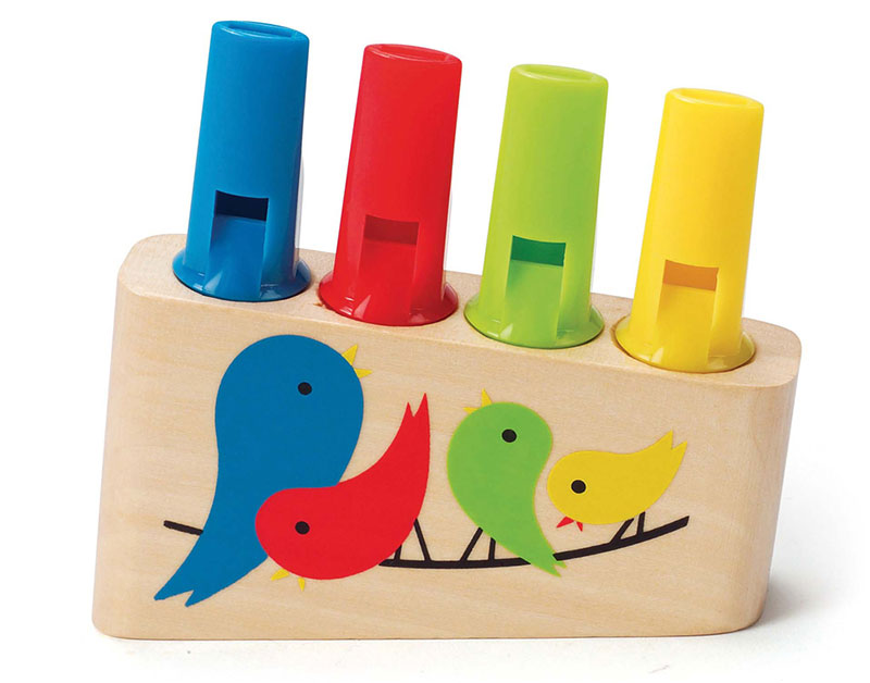 wooden pan flute toy