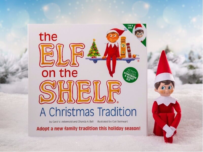 Elf on the Shelf prize pack