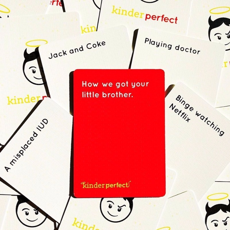 Kinderperfect game for parents