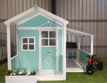 Hide and Seek Kids cubby Millie with optional side garage