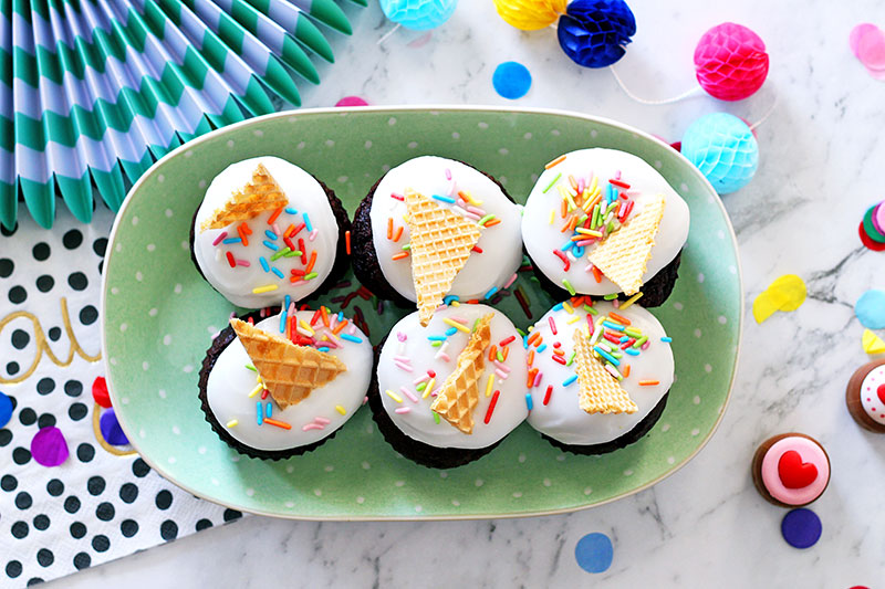 Philips Airfryer cupcakes