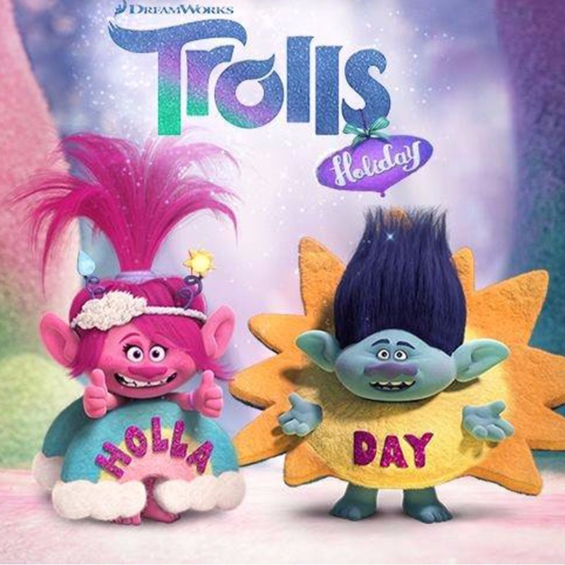 Trolls Holiday DVD Competition