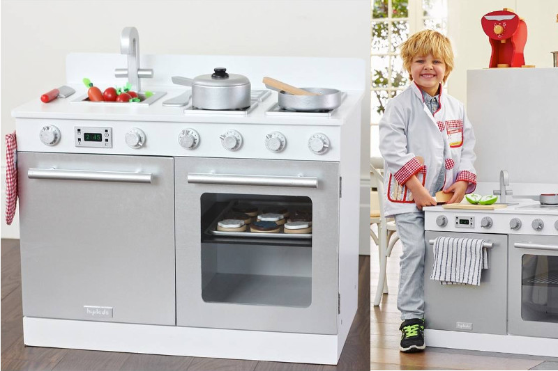 White Gourmet Toy Kitchen