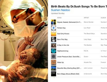 birthing playlist