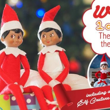 WIN: The Elf on the Shelf are Back with the Cheekiest of Costumes!