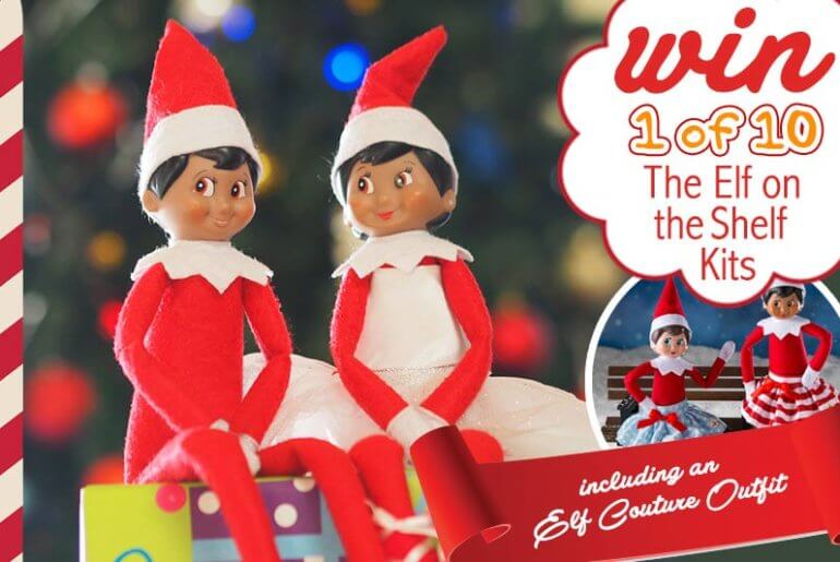 6fe4b2eab WIN  The Elf on the Shelf are Back with the Cheekiest of Costumes!