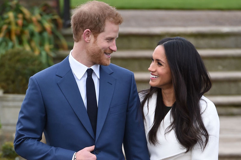 Prince Harry and Meghan Markle official engagement photo