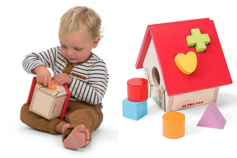 Le Toy Van wooden house shape sorter - Christmas Gift Guide 2017 babies