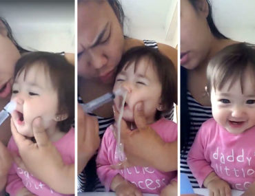 how to unblock toddler snotty nose
