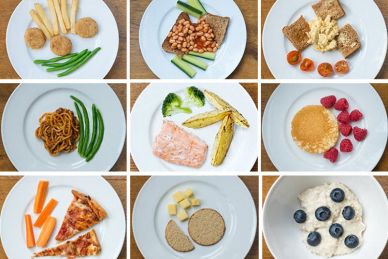 healthy toddler food portions