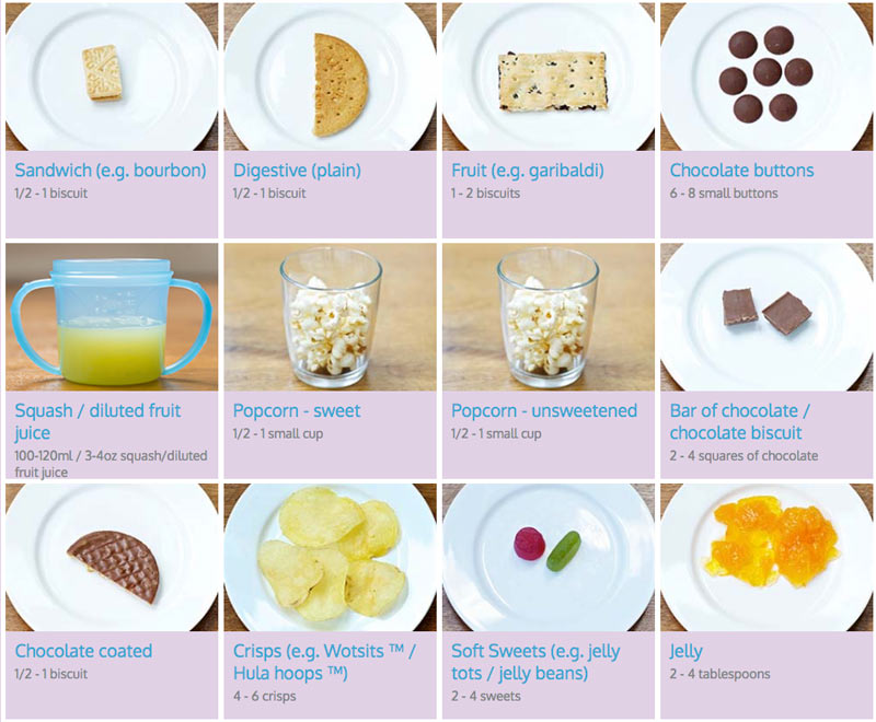 toddler food portions treats