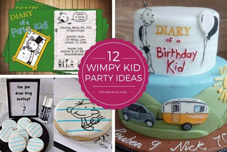Heres 12 Fun Diary Of A Wimpy Kid Party Ideas