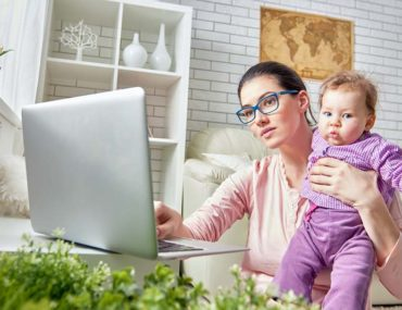 Studyi during maternity leave
